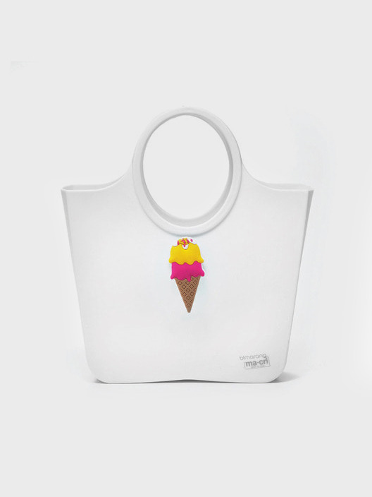 BLMARANG JELLY BAG CARAMELLA (LARGE) 813-EBP303MC